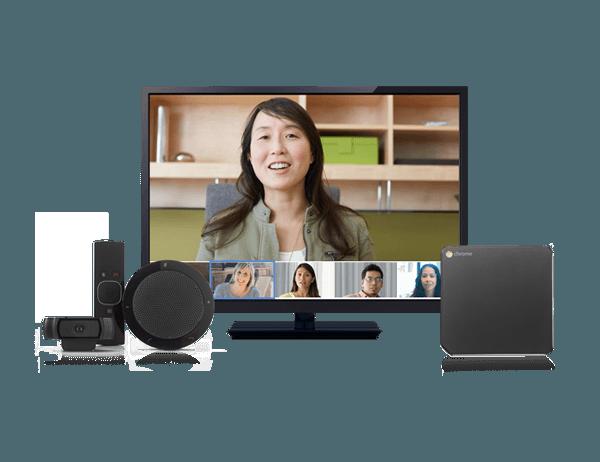chromebox for meetings thiết bị