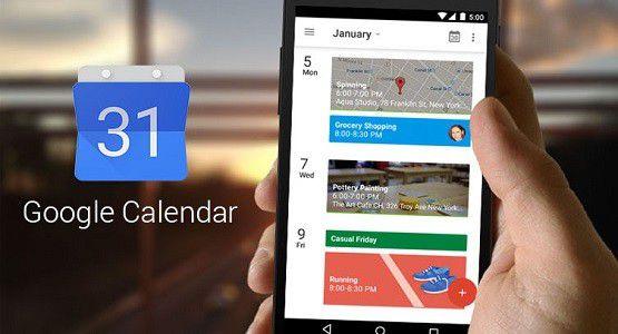Goals trong google calendar