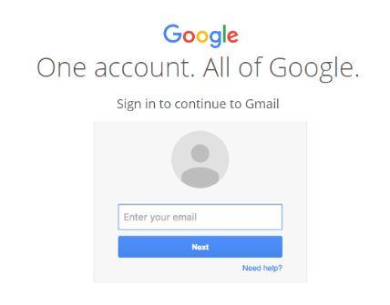 dang nhap tai khoan gmail