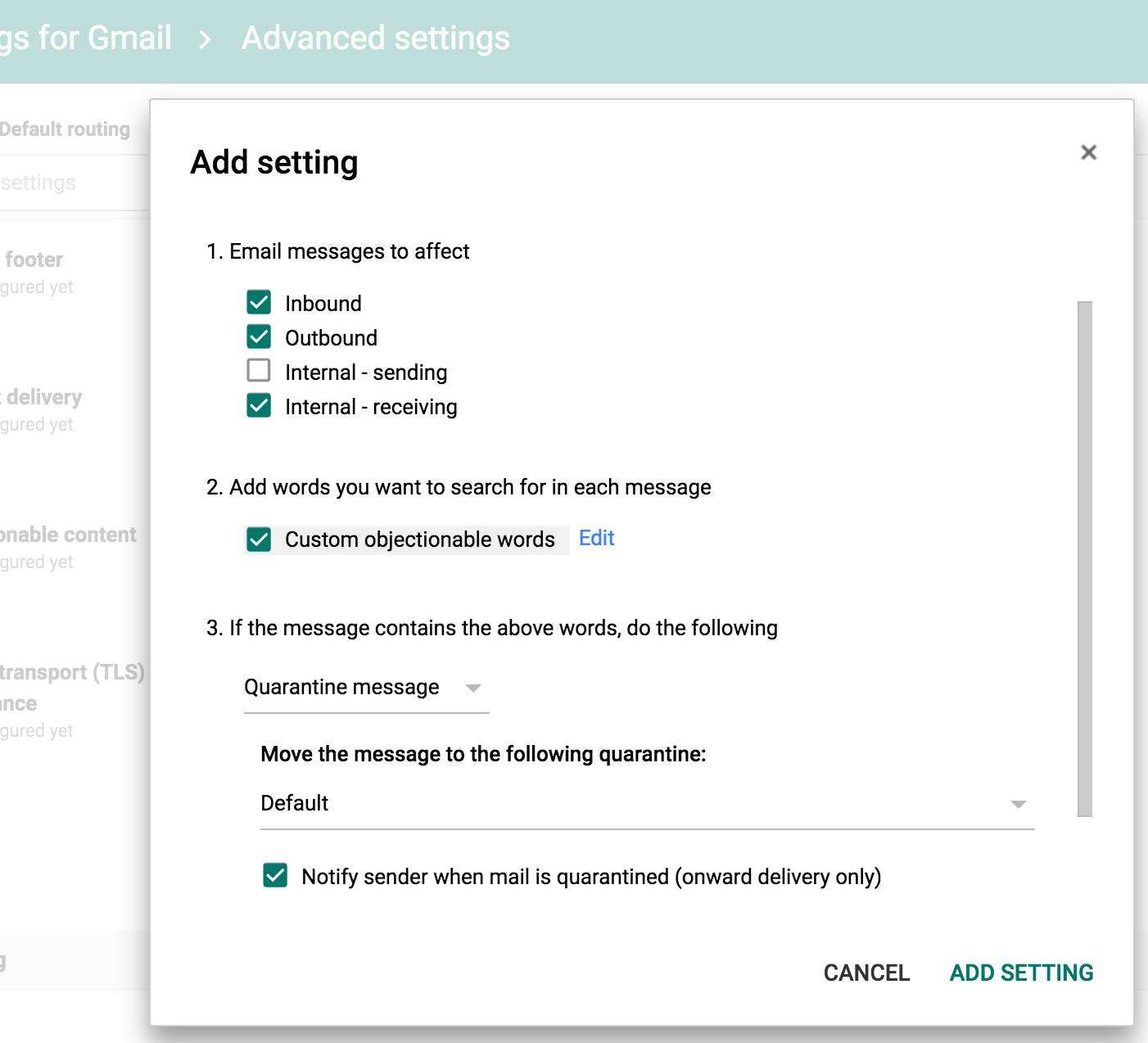 quản trị viên gmail