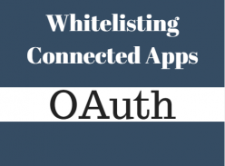 Whitelisting connected apps