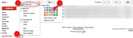 Gmail: Cách tạo Label và ý nghĩa của Label