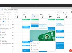 New Google Calendar UI