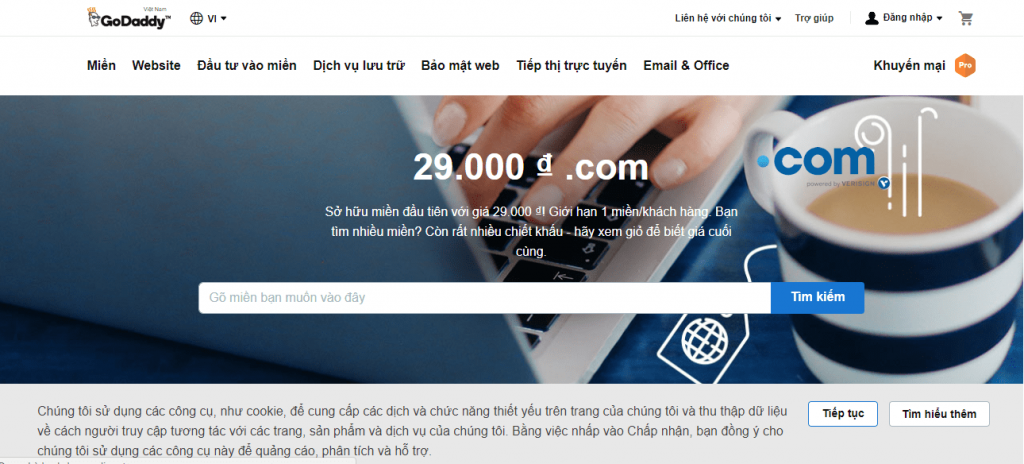 tạo website doanh nghiệp