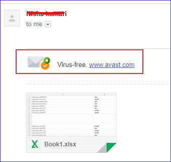 tệp đính kèm gmail antivirus