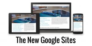 Google sites mới