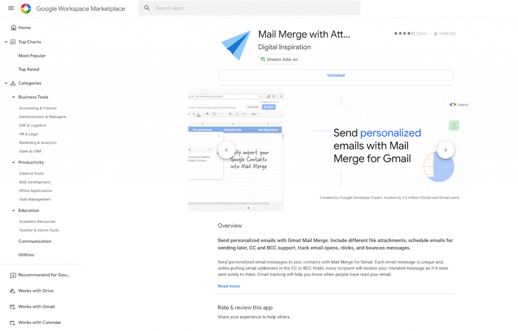 Mail merge - Cách gửi email cá nhân hóa cho nhiều người