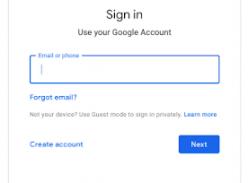 Giao diện đăng nhập mới của Google