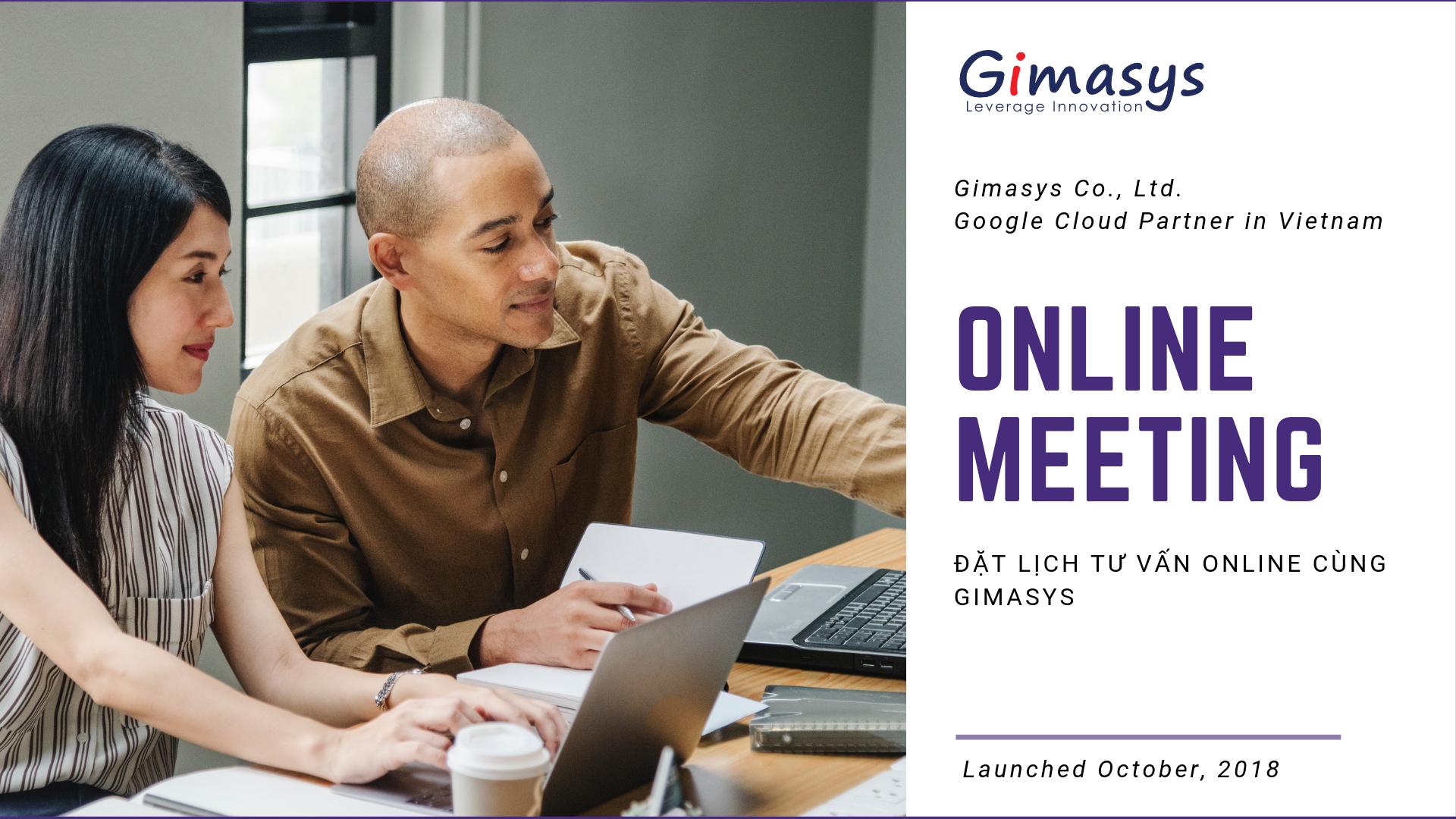 Gimasys - Đối tác ủy quyền của Google tại Việt Nam