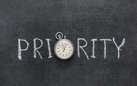 Trang ưu tiên Priority trong Drive