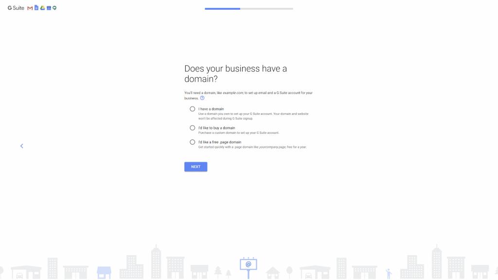 đăng kí tên miền gmail