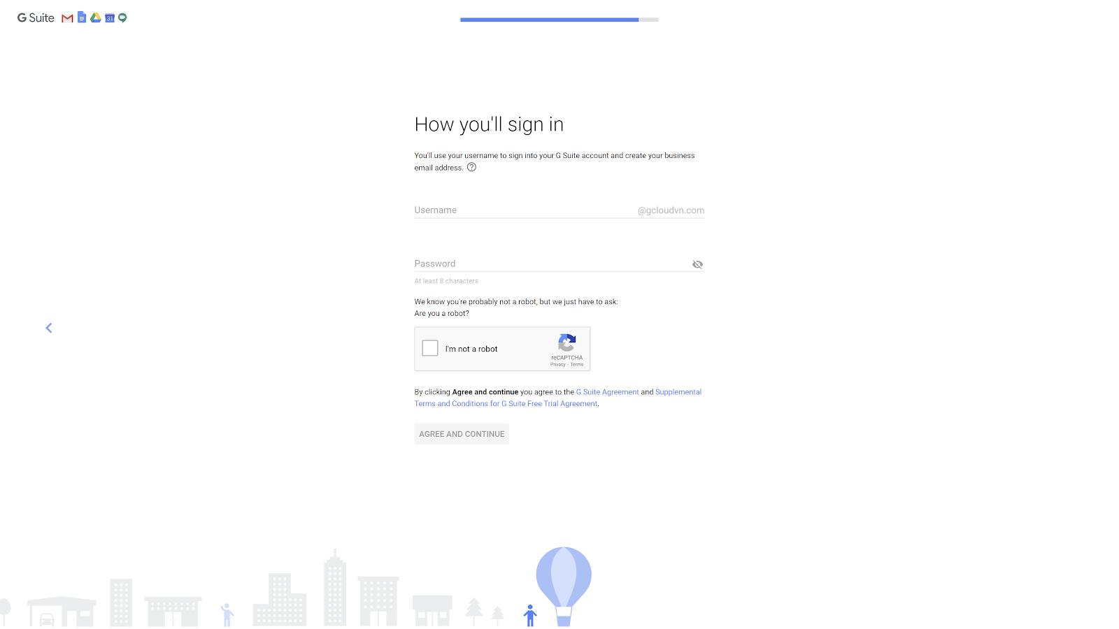 tạo gmail theo tên miền