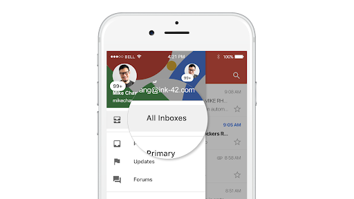 Gmail trên iOS