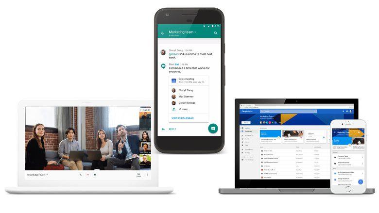 G Suite hangouts chat hangouts meet
