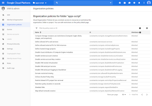 More admin control over Apps Script projects with Google