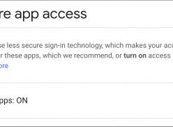 Giới hạn quyền truy cập vào các ứng dụng kém an toàn hơn để bảo vệ tài khoản G Suite