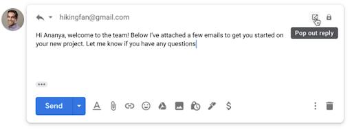 gửi email như tệp đính kèm