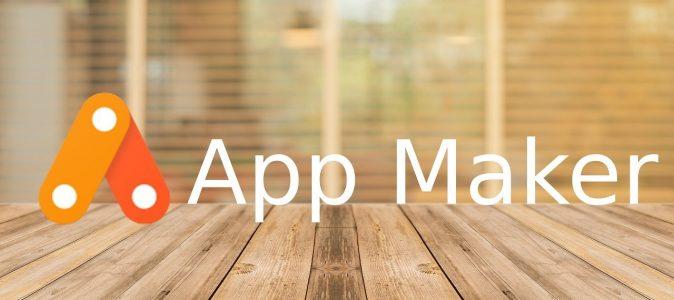 Google app maker
