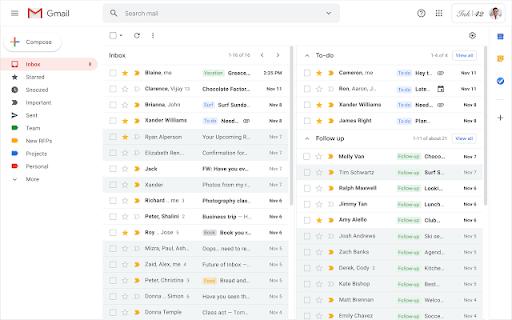 Thay đổi với nhiều hộp thư đến trong Gmail
