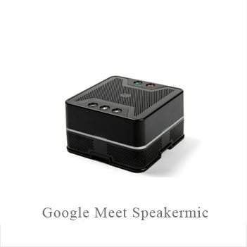 google meet speakermic