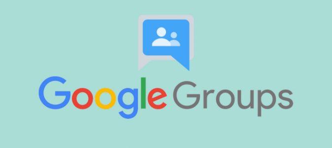 Google Groups Mới hiện đã khả dụng