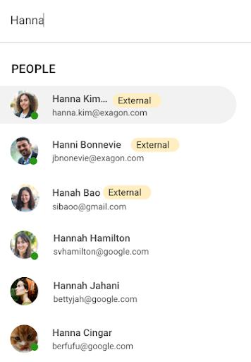 Trò chuyện với những người bên ngoài miền của bạn với Google Chat