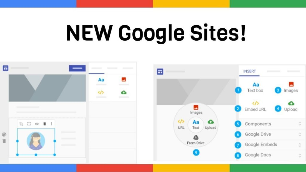 Lịch trình và công cụ để chuyển đổi từ Google Sites cũ sang mới