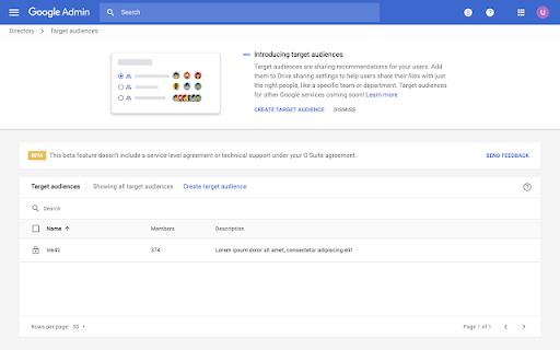 Hạn chế quyền chia sẻ tài liệu ra ngoài công ty trên Google Drive với Target Audience mới
