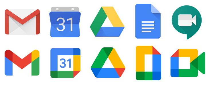 bộ nhận diện thương hiệu mới google workspace