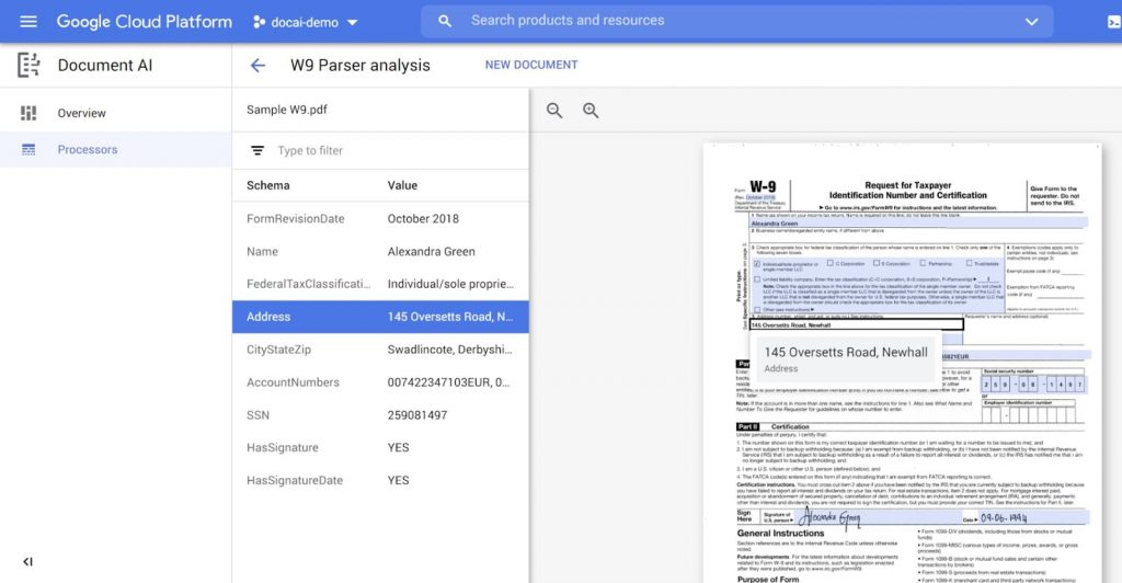 Trình phân tích cú pháp W9