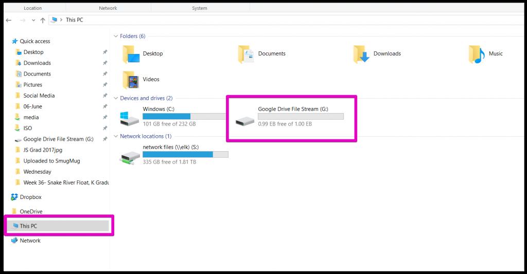 Sự khác biệt giữa Google Drive và Google Drive File Stream là gì?