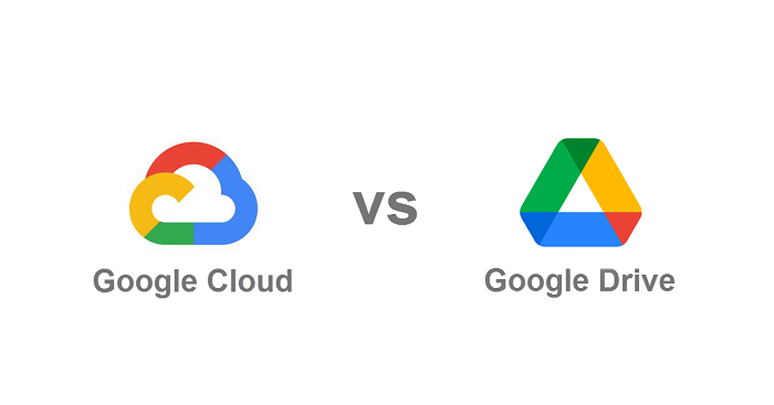 google cloud vs google drive