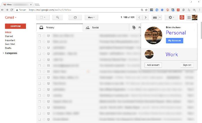 sử dụng gmail có sẵn với google workspace
