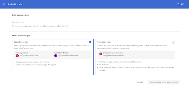 Admin console: cập nhật giao diện dễ dàng sử dụng