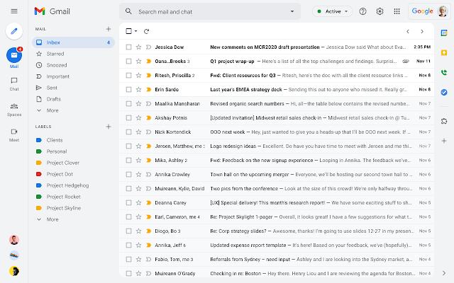 Google Chat: cải tiến không gian làm việc của bạn phong phú hơn