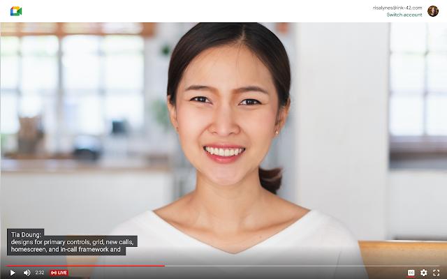 Google Meet: cải thiện và thay đổi 1 số tính năng trong livestreams
